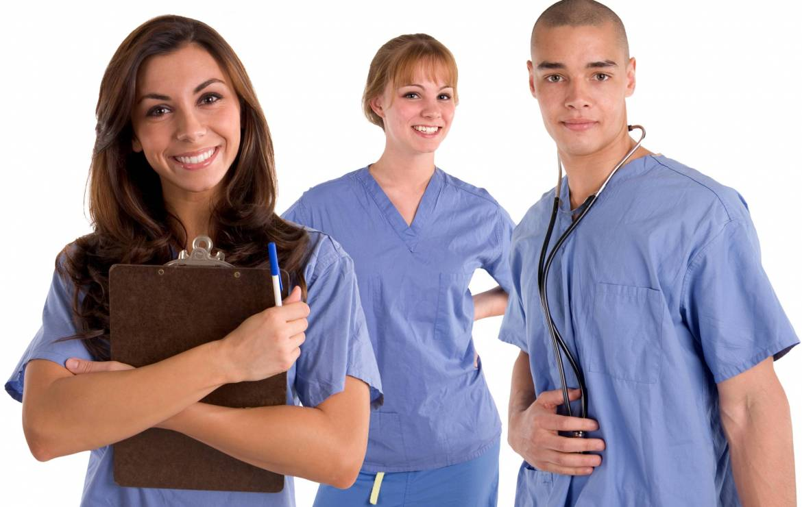 To become an RN (registered nurse)